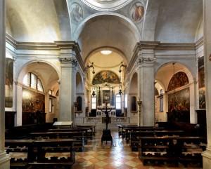 Veduta interna generale, Chiesa di San Giovanni Elemosinario, Venezia