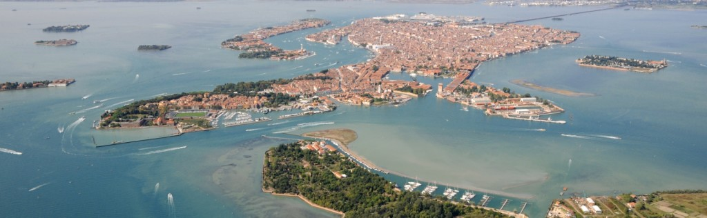 Venice and its lagoon (detail) - courtesy of www.ventodivenezia.it