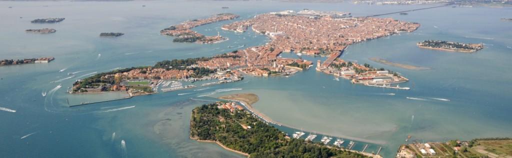 Venice and its lagoon (detail) - courtesy of www.ventodivenezia.it